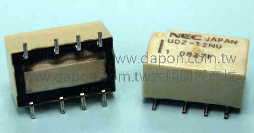 *大朋電子商城*NEC TOKIN UD2-12NU(日本製)繼電器Relay(5入)