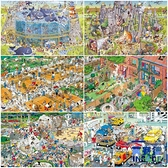 1000片拼圖超難的木質大型拼圖兒童成人益智玩具趣味【英賽德3C數碼館】