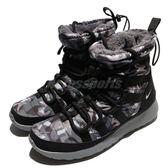 【五折特賣】Nike 休閒鞋 Wmns Roshe One Hi Print 黑 灰 迷彩 高筒 靴子 雪靴 女鞋【PUMP306】 807425-001