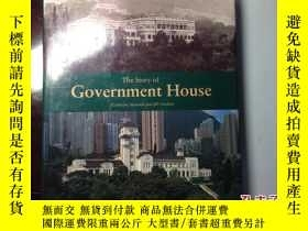 二手書博民逛書店the罕見story of Government House 香