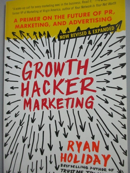 【書寶二手書T2/行銷_HFK】Growth Hacker Marketing_Holiday, Ryan