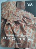 【書寶二手書T6/設計_YEO】Nineteenth-Century Fashion in Detail_Johnsto
