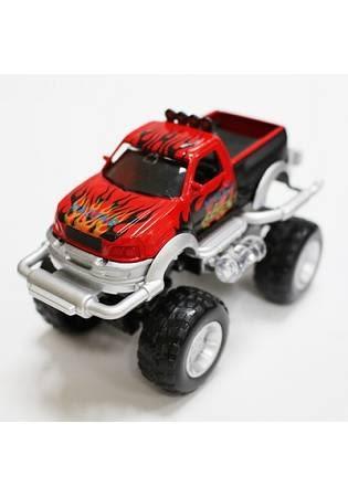 紅 FOOD超人有聲迴力越野車