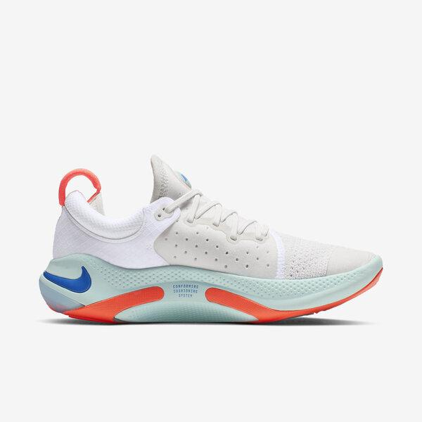 NIKE W JOYRIDE RUN FK [AQ2731-100] 女鞋 慢跑 輕量 舒適 緩震 路跑 健身 白藍