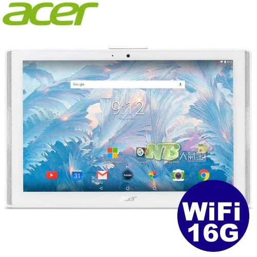 ACER Iconia One 10 B3-A40 ◤ 0利率,送皮套5件組◢ 10吋四核心平板 (WIFI/16G)
