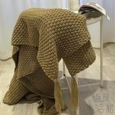 北歐午睡沙發毯流蘇針織毯子毛線毛巾蓋毯休閒毛毯被子【極簡生活】