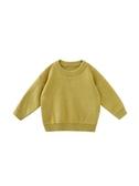 店長推薦 嬰童裝男童寶寶毛衣套頭秋冬款純色百搭兒童針織打底衫長袖