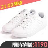 K-SWISS 新竹皇家 Cleam Court 白色 皮質 休閒鞋 男款 NO.A8509-I7331