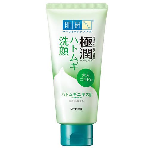ROHTO肌研 極潤健康深層清潔調理洗面乳 100g【BG Shop】