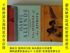 二手書博民逛書店House罕見Of The Spirits: Isabel Allende 原版圖書Y114412 Allen