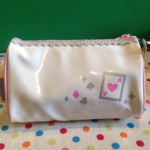 【發現。好貨】日本進口 皇冠撲克牌圖案多功能用途化妝包 筆袋 收納包