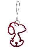 【卡漫城】 史努比 鑰匙圈 鐵框 紅 ㊣版 日版 鋁框 人型 手機吊飾 史奴比 Snoopy 拉鍊 吊飾環