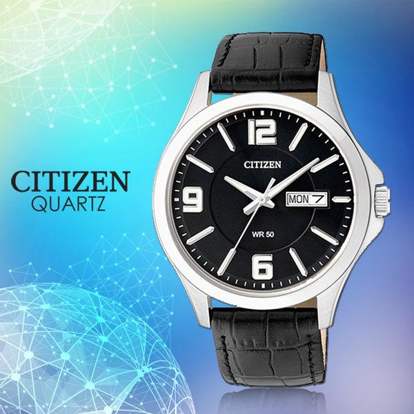 CASIO 手錶專賣店 國隆 CITIZEN星辰 BF2001-04E 石英錶 日 期/星期 皮革 男錶