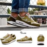 【六折特賣】Nike 復古慢跑鞋 Air Max 1 Premium Retro Green Curry 綠 黃 麂皮 男鞋 運動鞋【PUMP306】 908366-300