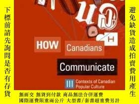 二手書博民逛書店How罕見Canadians Communicate IiiY3