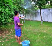 園藝長桿噴槍噴壺往復式農用噴霧器打藥洗車消毒不銹鋼澆花灑水器 卡布奇诺igo