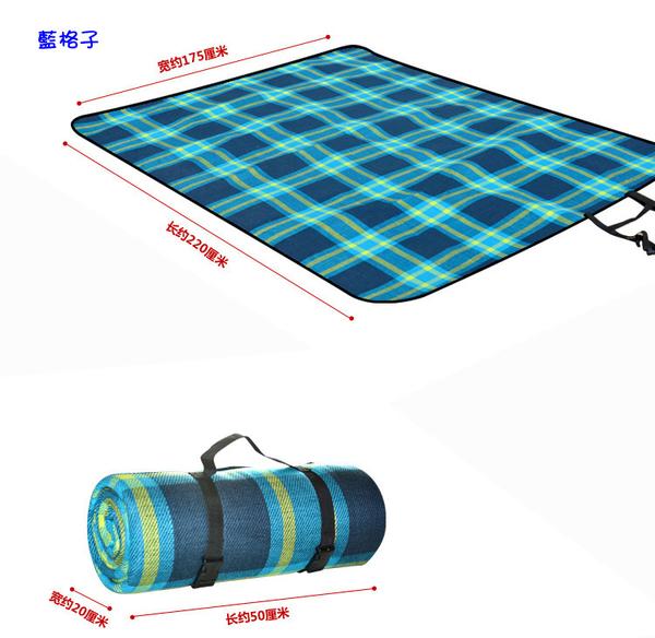 可機洗亞克力戶外防潮墊 超大加厚5MM野餐墊 加寬防水帳篷露營地墊175x220cm