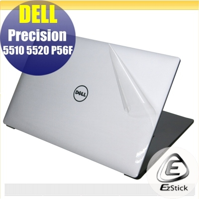 【Ezstick】DELL Precision 5510 5520 P56F 觸控版 透氣機身保護貼(上蓋、鍵盤週圍、底部)DIY包膜