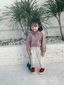 女童襯衫 女童白襯衫童裝長袖襯衣中小童蝙蝠袖兒童寬鬆洋氣2019春裝 童趣屋
