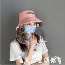 防飛沫帽子 防護面罩全臉疫情裝備套裝帽子...