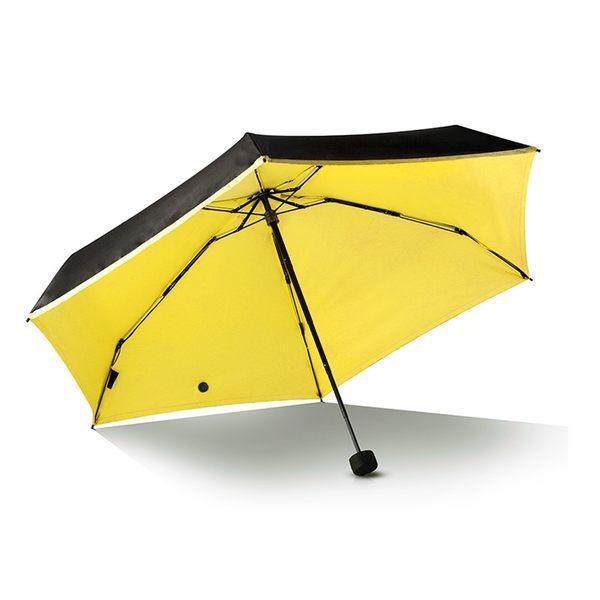 超mini口袋傘 迷你傘 耐強風 防曬 小黑傘 防紫外線 遮陽傘 晴雨傘 五折傘 摺疊傘 折疊傘