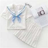 正統JK制服夏季日本短袖水手服套裝關西襟百褶裙日系學生裝學院風