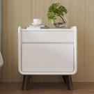 床頭櫃芝華仕簡約現代床頭櫃北歐臥室收納儲物櫃歐式輕奢小桌子置物G005 智慧e家LX