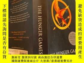 二手書博民逛書店the罕見hunger games 饑餓遊戲Y200392