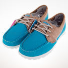 SKECHERS On the Go 休閒 柔軟 帆船鞋-13840TURQ