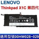 LENOVO ThinkPad X1C 第四代 原廠電池 00HW028 00HW029 SB10F46466 SB10F46467