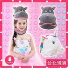 成人可戴 超可愛動物頭套 河馬頭套 獨角獸頭套 交換禮物 送禮生日禮物 聖誕節
