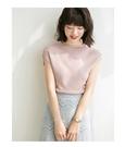 時尚包肩針織上衣針織衫T恤【80-14-...
