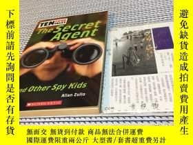 二手書博民逛書店英文原版罕見the secret agent and other