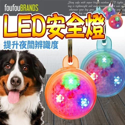📣此商品48小時內快速出貨🚀》加拿大FouFouBrands》寵物彩虹LED安全燈掛飾