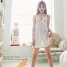 緞面睡衣~柔緞面情趣睡衣蕾絲款二件式睡衣 居家服內睡衣《SV6188》快樂生活網