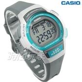 CASIO卡西歐 LWS-1000H-8A 慢活首選輕量型混色運動休閒電子錶 女錶 兒童錶 綠框x灰 LWS-1000H-8AVDF
