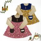 小洋裝 / 兩件式 / 內刷毛 / 森林系女孩套裝 日本Milkiss
