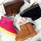 男女童 冬日必備保暖舒適內刷毛雪靴 兒童短靴 59鞋廊