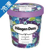 哈根達斯薰衣草藍莓冰淇淋品脫457M【愛買冷凍】
