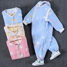 618大促 寶寶分腿睡袋春秋 嬰兒薄棉秋冬純棉四季通用 紗布薄款兒童防踢被