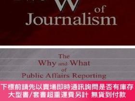 """二手書博民逛書店The罕見Two W s Of JournalismY255174 Davis """"buzz&a"""