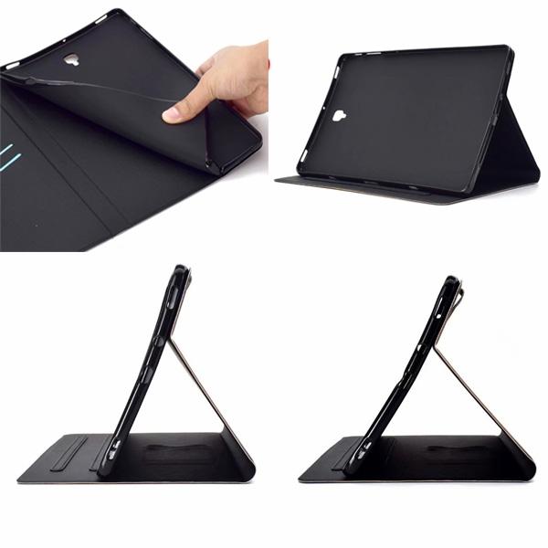 三星 Tab S4 10.5 T830 T835 S3電壓平板套 平板皮套 平板皮套 插卡 支架 內軟殼 彩繪 平板套