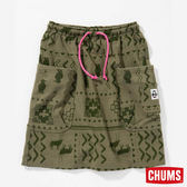 CHUMS 日本 女 口袋造型裙 Booby圖騰 CH181066Z030