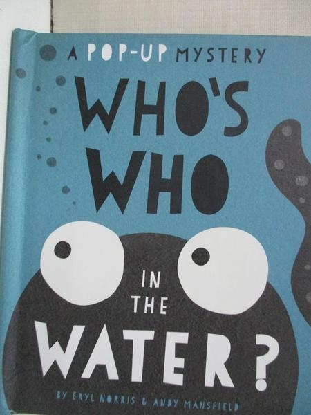【書寶二手書T8/少年童書_ITC】Black and White Pops: What's That in the Water?_Andy Mansfield