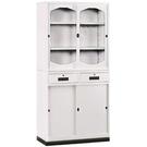 【時尚屋】K314圓框A級3x6中二抽鐵櫃Y116-8免運費/台灣製/免組裝
