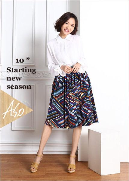 A.S.O 完美涼夏 真皮手工編織楔型涼鞋  正黃