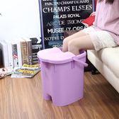 洗腳桶 帶蓋加高加厚足浴桶 按摩保溫泡腳桶足浴盆 塑料手提洗腳桶洗腳盆 酷動3Cigo