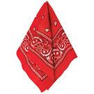 西部牛仔領巾1入-紅