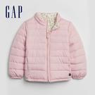 Gap女幼童 彩色波點拉鍊半高領外套 593461-淡粉色