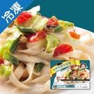 金品托司卡納乳酪時蔬寬扁麵280G/包【愛買冷凍】